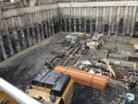 Image of FK Lowry Piling at Ship Street Dublin