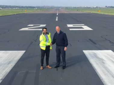 Runway Handover at RAF Northolt