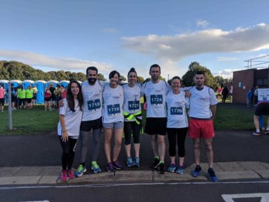 Lagan Aviation & Infrastructure take part in Belfast City Half Marathon