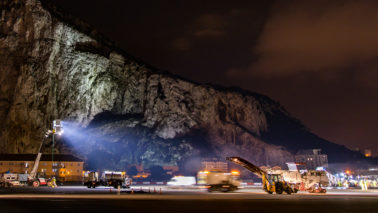 Lagan Aviation completes project at RAF Gibraltar on budget and two weeks early